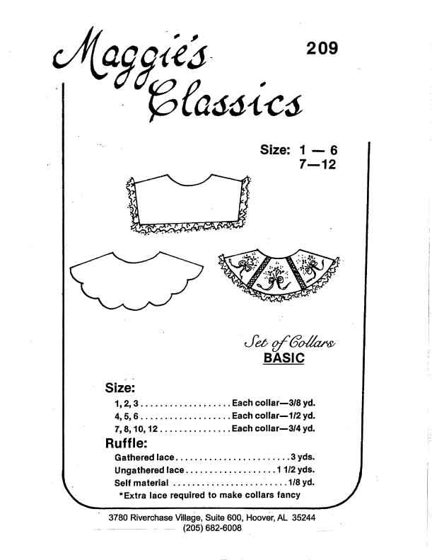Basic Set of Collars, Child