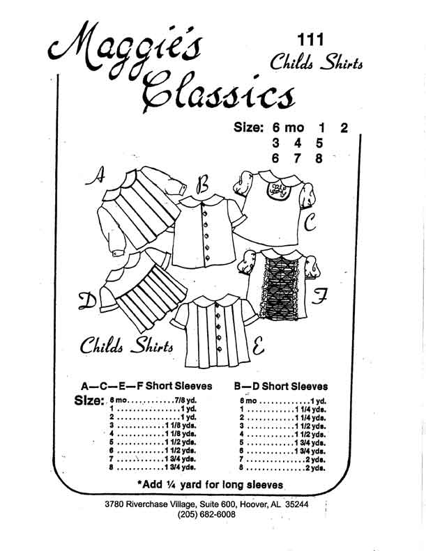 Boy's and Girl's Shirts
