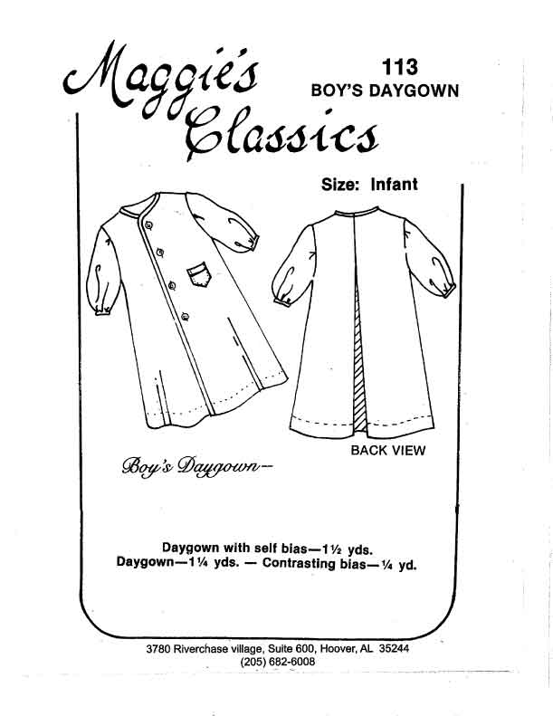 Boy's Daygown