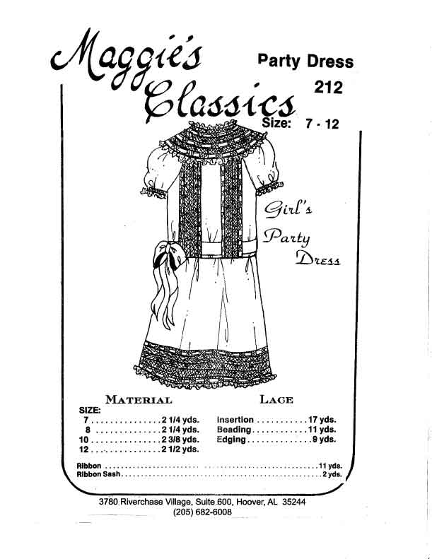 Girl's Party Dress