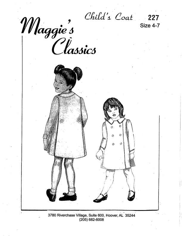 Child's Coat, Plain