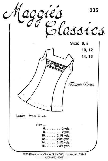 Ladies Tennis Dress